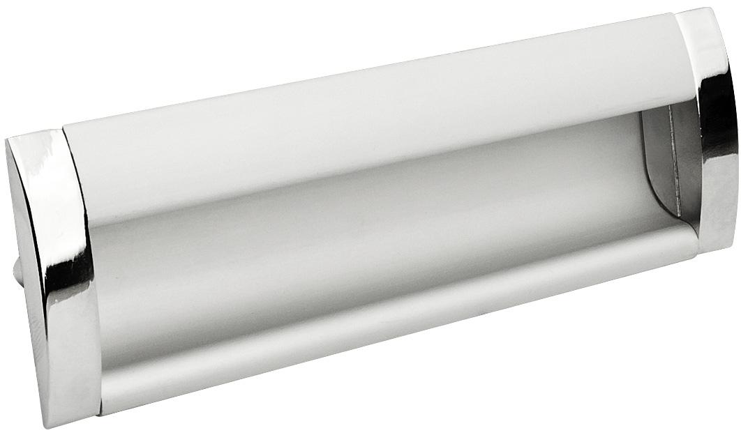 Ручка врезная GIFF UA08/C00/04/96 хром/алюминий