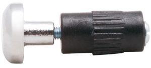 Заглушка трубы-рейлинга d=16 Giff модерн хром