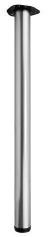 Опора для стола регулируемая Giff Rondella 60/820 матовый хром