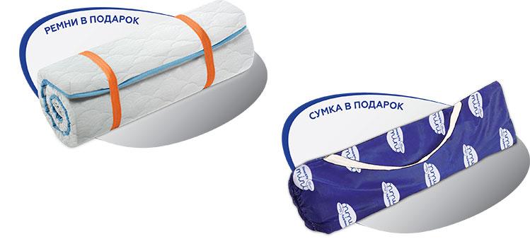 Ортопедический матрас Flex 2 в 1 Kokos из серии Sleep&Fly Mini