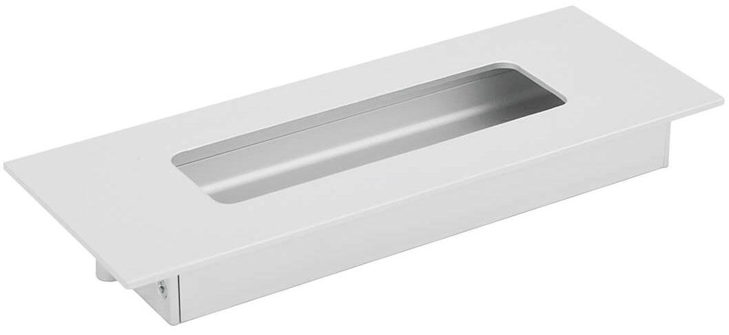 Ручка врезная Virno Lines 412/128 алюминий