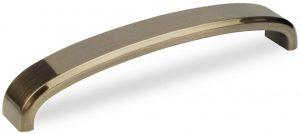 Ручка скоба Virno Lines 403/160 бронза браш