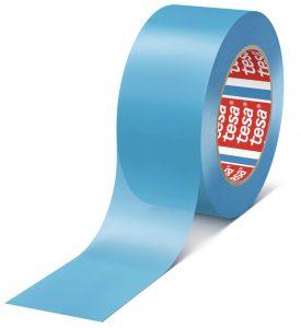 Скотч односторонний на основе полипропилена Tesa 25х0,1мм L=50м голубой