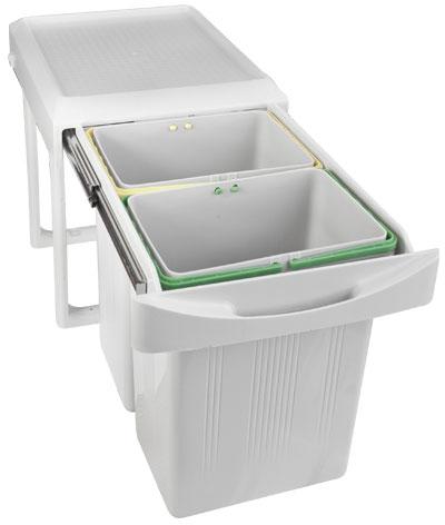 Ведро выдвижное для мусора Inoxa 97A/2
