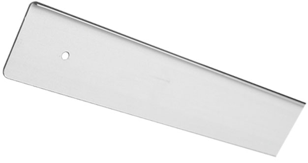 Заглушка столешницы торцевая левая U-закругленная Giff 38×600 R3