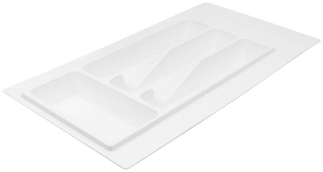 Лоток для столовых приборов Volpato 270×490 белый