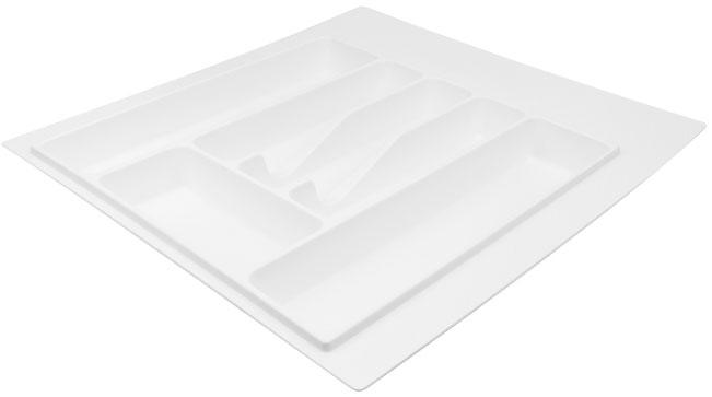Лоток для столовых приборов Volpato 470×490 белый