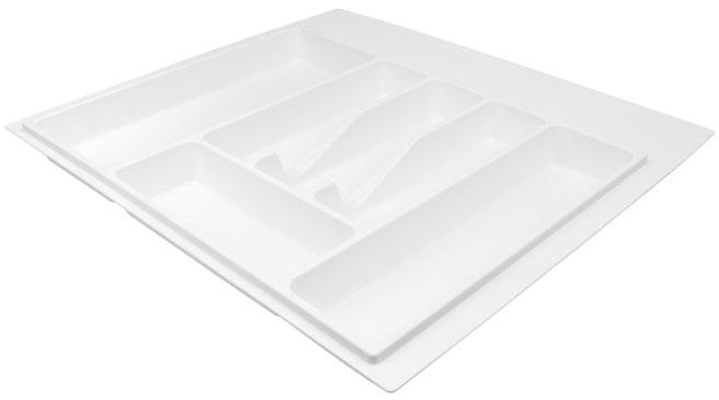 Лоток для столовых приборов Volpato 540×490 белый