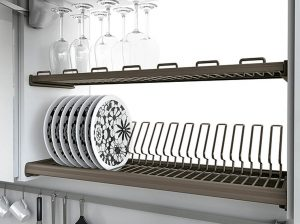 Посудосушитель Inoxa Ellite 716 (900 мм) с алюминиевой рамкой