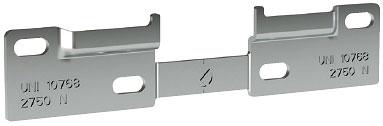 Планка монтажная для шкафодержателя Italiana Ferramenta Libra WP1 2 секции (17955)