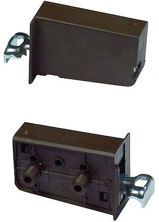 Подвес для мебели с креплением 10 мм правый коричневый
