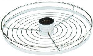 Полка круглая Giff 360/50 хром