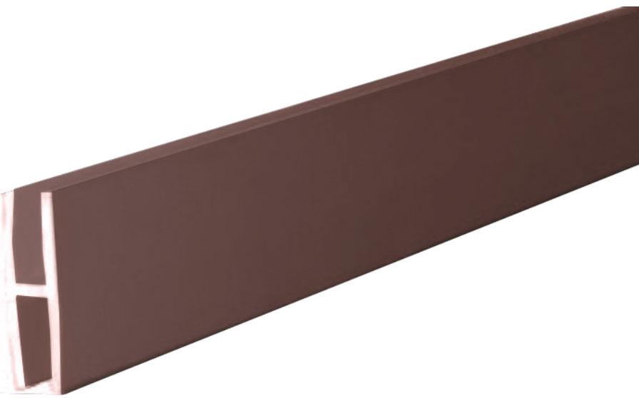 Соединительная планка ДВП Giff L=2000 коричневый