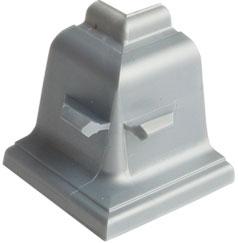 Уголок внутренний 90° для плинтуса Rehau 127