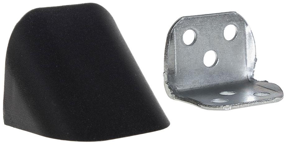 Уголок мебельный двойной металлический с пластиковой заглушкой Z-02 Giff (в ассортименте)