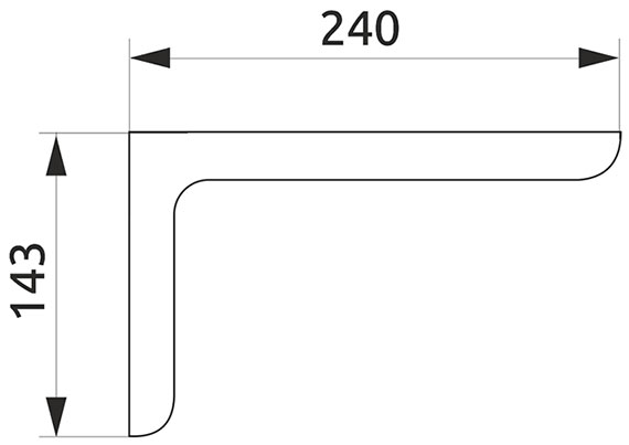 Консоль декоративная Giff L=120 бежевый