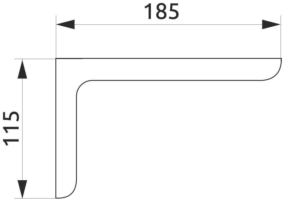 Консоль декоративная Giff L=180 бежевый