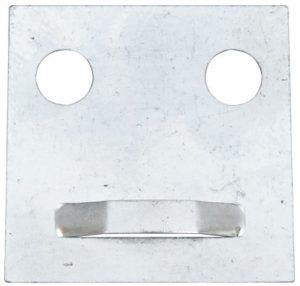 Крепление для зеркала — пластина Giff 60×60