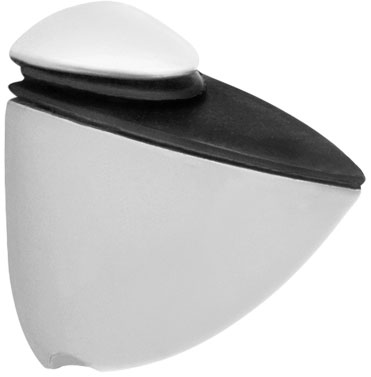 Крепление для стеклянной полки Giff Пеликан L=50 H=50 матовый хром