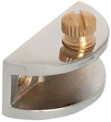 Крепление для стеклянной полки Giff N2 хром