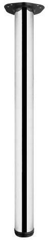 Опора для стола регулируемая Giff Rondella 60/820 хром