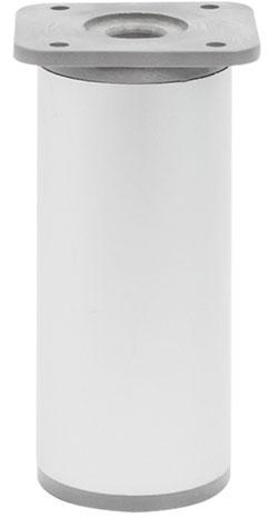 Опора регулируемая цилиндрическая Giff NA 03C00 Н=100 алюминий