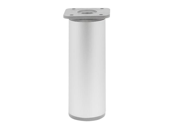 Опора регулируемая цилиндрическая Giff NA 03C00 Н=120 алюминий