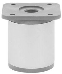 Опора регулируемая цилиндрическая Giff NA 03C00 Н=50 алюминий