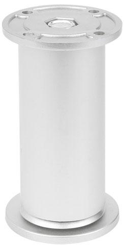 Опора регулируемая цилиндрическая Giff NA10 Т2 Н=100 алюминий