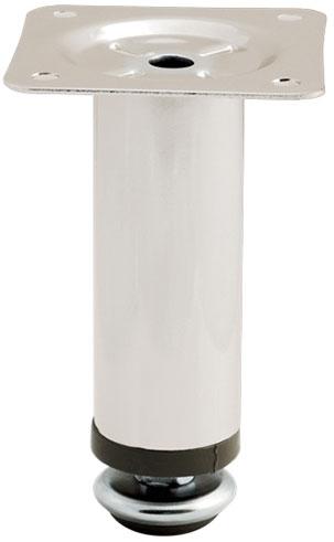 Опора регулируемая цилиндрическая Giff Round 30/100 сатин
