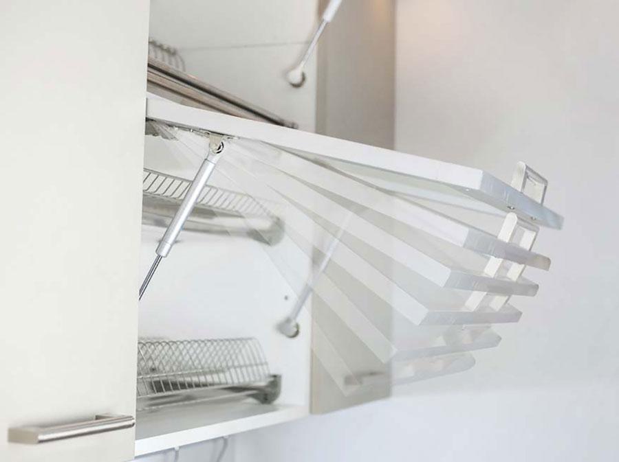 Подъемник Giff Alto газовый фрикционный L=245 мм 40 N белый